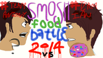 SMOSH FOOD BATTLE 2014 WO by IansSenpai