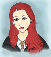 Young Lily Potter by lathespianage