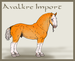 Avalkre Horse Import 11 by ReaWolf