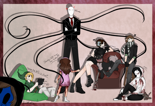 [creepypasta] the gang's all here by boltxn-queen