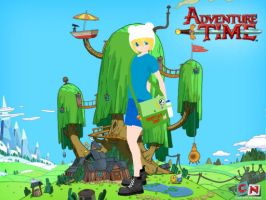 MMD Adventure Time Updated Finn Download by metalheadangel01
