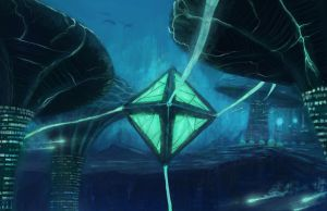 Underwater City Concept Commission - Egodrift by Solfour