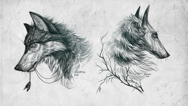 Wolves by Alaiaorax