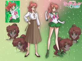 Sailor Jupiter Wallpaper by KyuubiVictoria