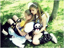 Rin and Len- Sister and me by Lerelinne-Hibiki
