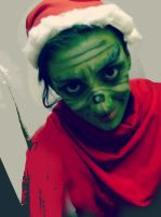 Grinch by CamilaCostaArt