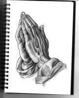 Praying hands by SilentStudiosUK