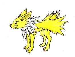 Jolteon by Hunchdebunch