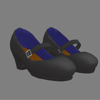 Hi Heeled Mary Jane Shoes by MMDxDespair