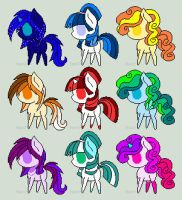 FREE MLP ADOPTABLES! (CLOSED) by May-adopts