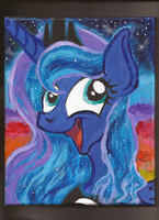 Princess Luna awesome face by Pwnyville