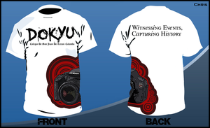 Dokyu T-Shirt Design by Christophere13