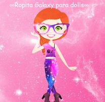 Ropita Galaxy para dolls png by CakeEditions7