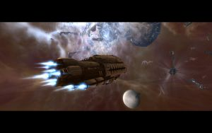 A Real EVE Online Party by cadair