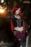 Katarina High Command cosplay League of Legends  3 by MelodyxNya