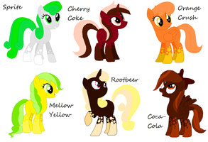 Soda Adoptables OPEN (5 Left) by C0I0R