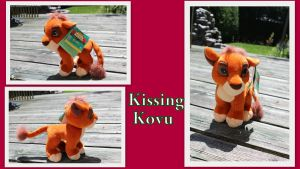 Kissing Kovu by Laurel-Lion