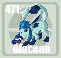 471 Glaceon by Pokedex
