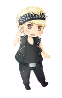 SF AND S Sungmin Chibi by CheekyFlower