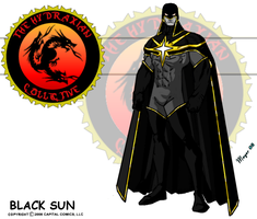 Black Sun, White Star by skywarp-2