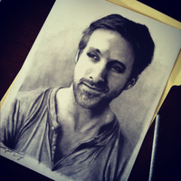 Ryan Gosling by kategatsby