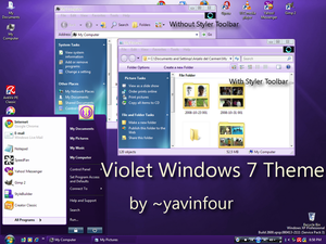 Violet-Windows-7-Theme