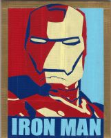 Iron Man Duct Tape Print by DuctileCreations