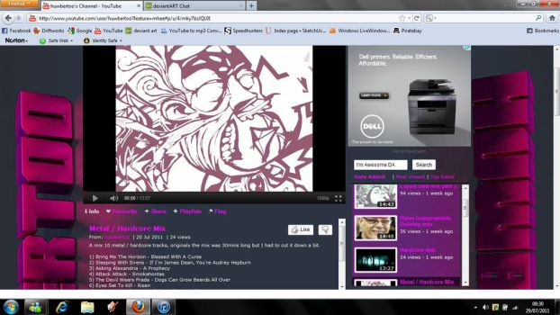 Youtube Background In Browser by Zanarah
