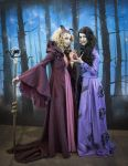 Malificent and The Evil Queen OUAT by sahramorgan