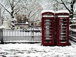 London Snow by Seachmall