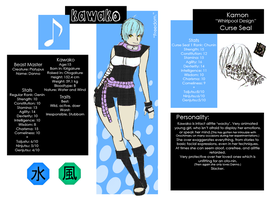 Kawako Character Sheet Fin. by DeadlyImperfections