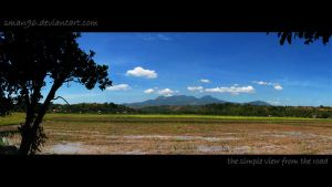 the simple view from the road by sman96