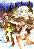 jackfrost and hiccup by Throne-of-the-Roses