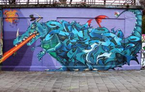 ADK crew DRAGON WALL by SANS-01-2-MHC-BS