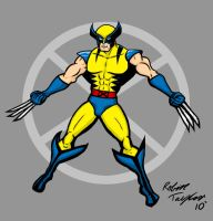 Wolverine Power Stance by JeanPaulRobin