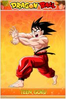 Dragon Ball - Teen Goku Super Kamehameha by DBCProject