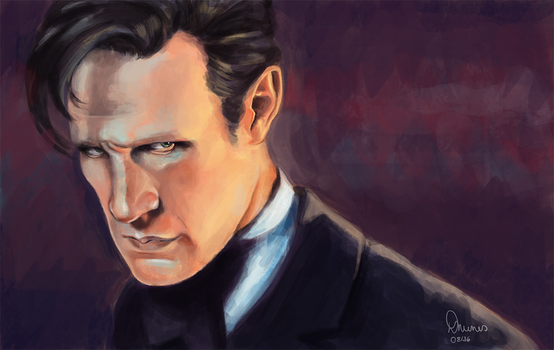Eleventh Doctor by debsten