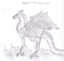 Dragon of The Element: Ragnor by guildedwings