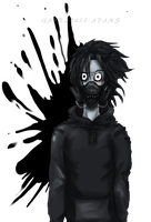 gas mask  jeff by Coffee-For-The-Dead