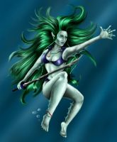 Sea Elf - Colours by Mistresselysia
