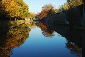 Autumn on the Moat by EarthHart