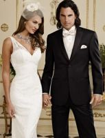 JeanYves Ridge White Peak Tonal Tuxedo Black by mensusasuits