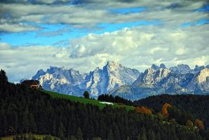 Pretty Dolomiti II by mutrus