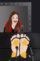 Scarlet Witch gets it good. by DeadpoolDisassembled