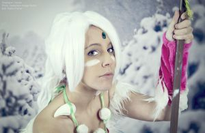 They will fear the Wild - Snow Bunny Nidalee by Xeylen