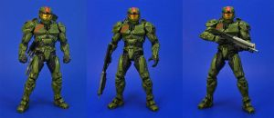 Halo Wars - Red Team Leader UPDATE by Lalam24