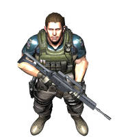 RE6: Chris Redfield -Spotllight- by xXLife-Starts-NowXx