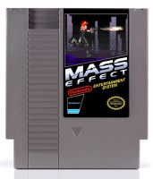 Mass Effect NES Cart by Garrenh