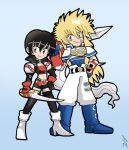 TALES OF DESTINY Rutee and Stahn by SandikaRakhim