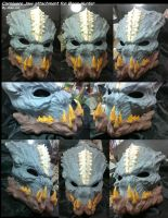 Carnivore Jaw attachment for Bone-Hunter by Uratz-Studios